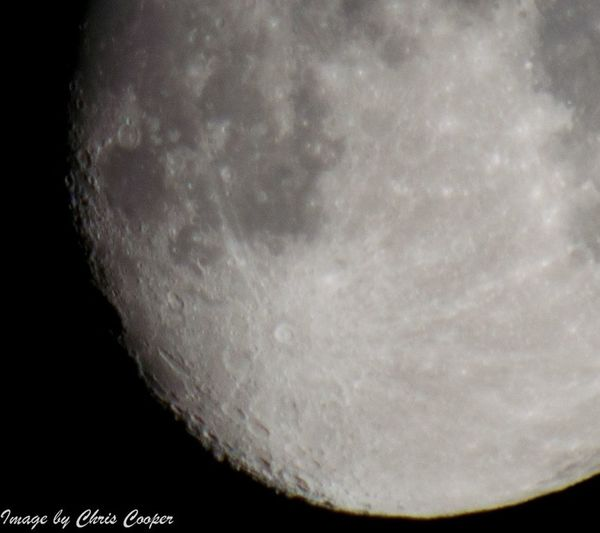 The moon from st madoes, Perthshire