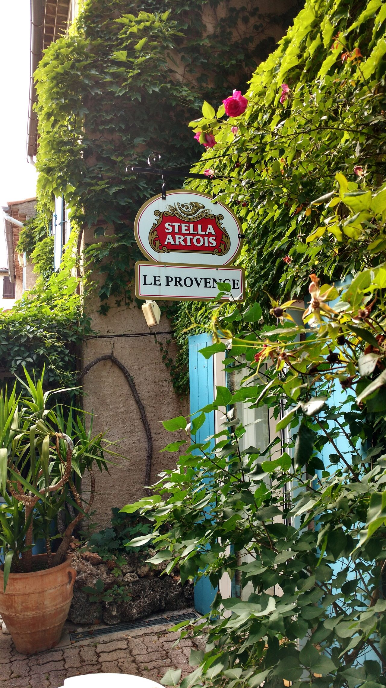 Stella Artois France Provence Building Exterior Signboard No People