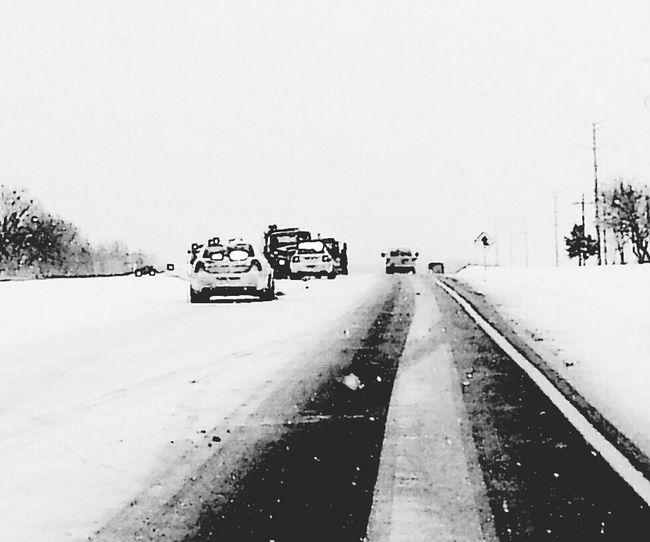 Snow ❄ Winter 2013-2014♥ Eye Em Snowscapes Eyeem Road Hazards