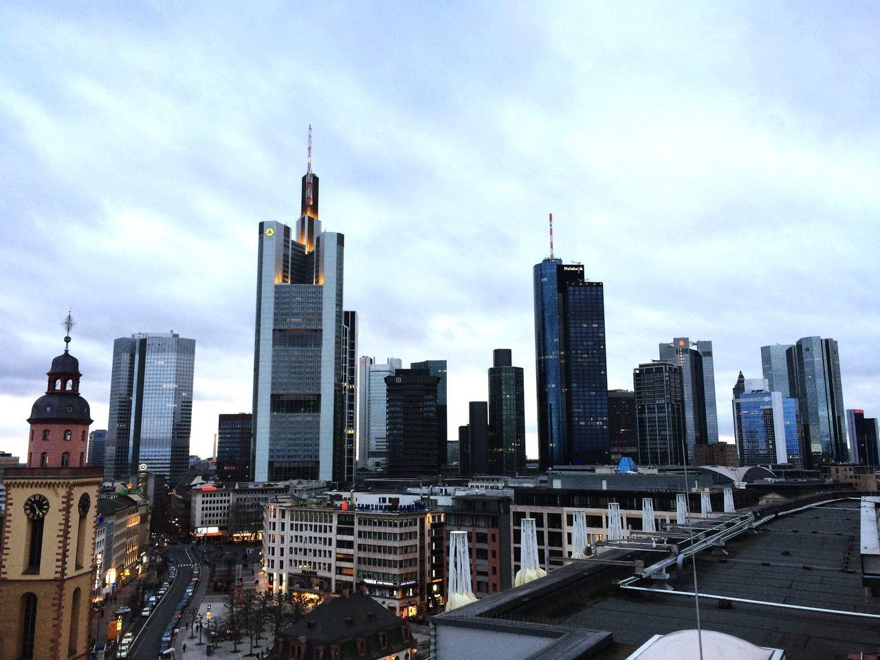 Frankfurt Brudi Skyline