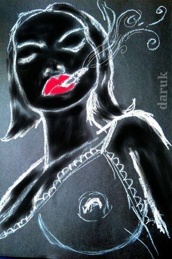 Sensualart My Art, My Soul... Burning Desire... Drawing Bold And Beautiful Fallen Angels Doitbetter Portrait Of A Woman Curvy & Beautiful