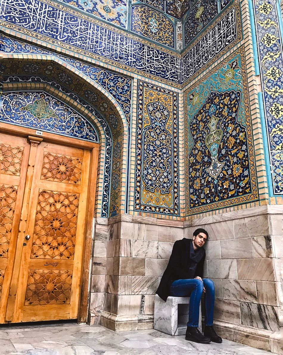 Miles Away People Place Of Worship One Person Iran Holyshrine Architecture
