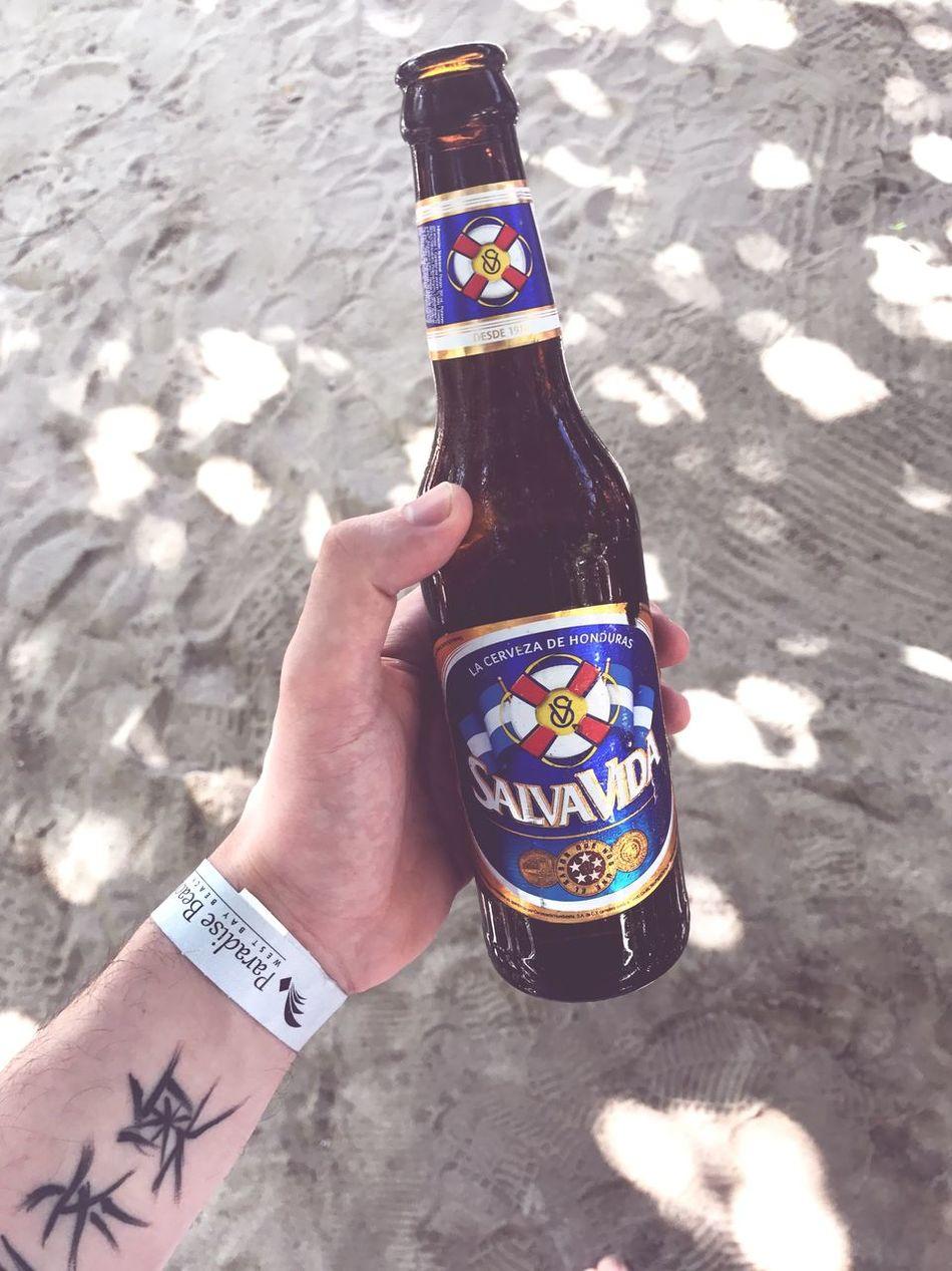 Nice day in honduras. Honduras Lasttrip Caraibi Cruise Beer December 2016 Nicesand Likeit