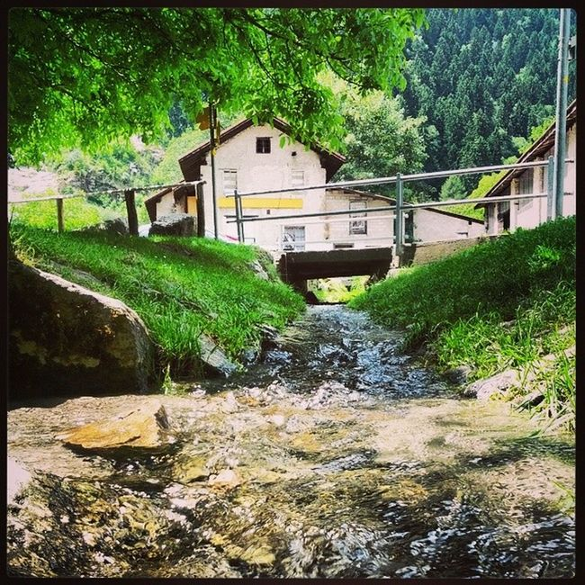 House Faido Water Ticino switzerland