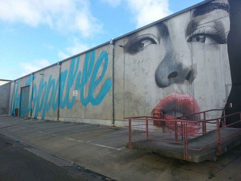 Graffiti Streetart Wonderlust Rone