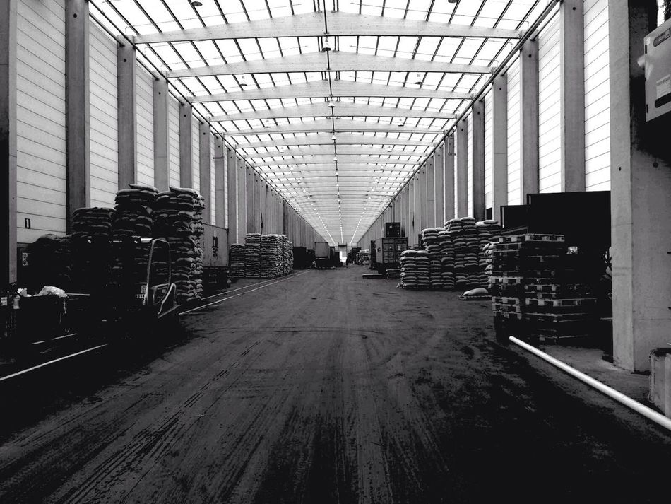 The Architect - 2016 EyeEm Awards Industrial Architecture Warehouse Roof Transparent Roof IPhoneography Black And White