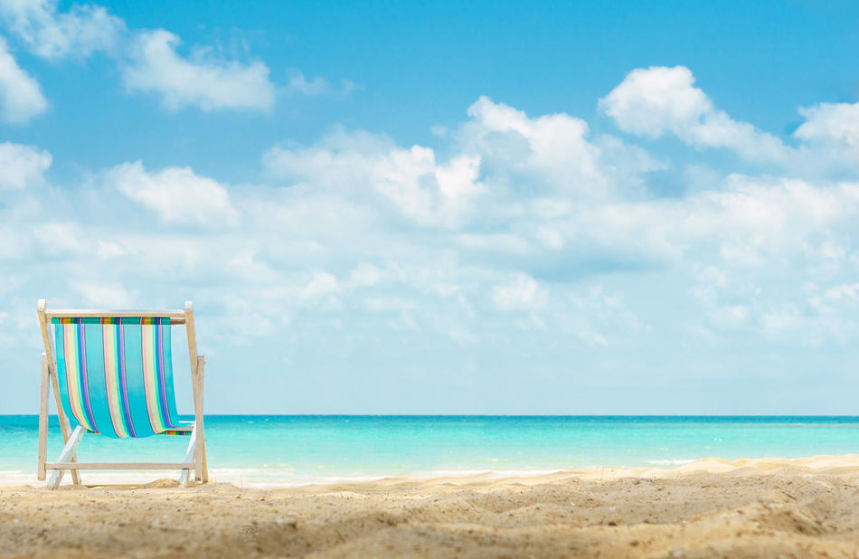 Alone Beach Beach Bed Cloud - Sky Freedom Horizon Over Water One Outdoors Recreation  Relaxation Rest Sand Sea Sigle Sky Summer Sunbathe Travel Destinations Water