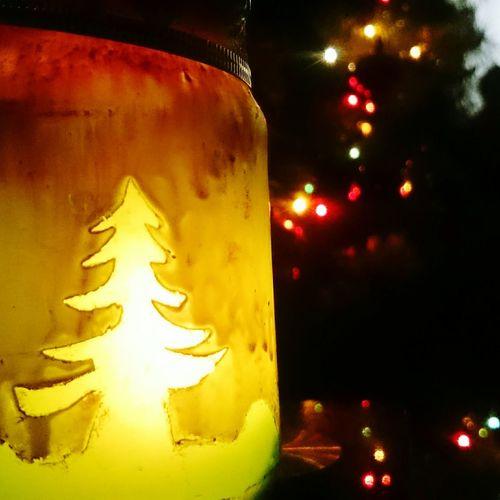 Christmas handmade lantern Night Light Holiday Lantern Green Christmas Lantern Christmas Jar Lights Gift Holiday♡ Handmade By Me Handmade Christmas Handmade
