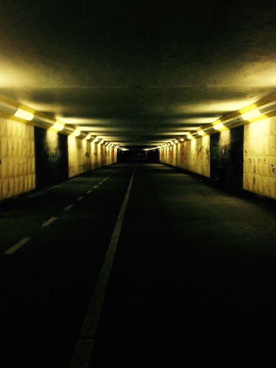 Going To The Gym Gym Fitness Streetphotography Tunnel Lights Music Alone Good Feeling Love