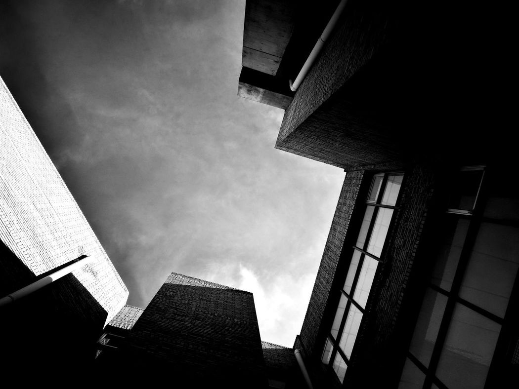 Architecture Black And White Fad Design
