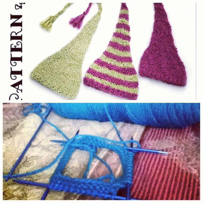 Making this cute little hat for my nephew coming in March. Picstitch  Knitpattern Needles Dpns yarn