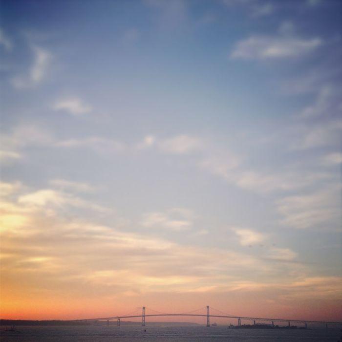 Newport Rhode Island New England  Sunset