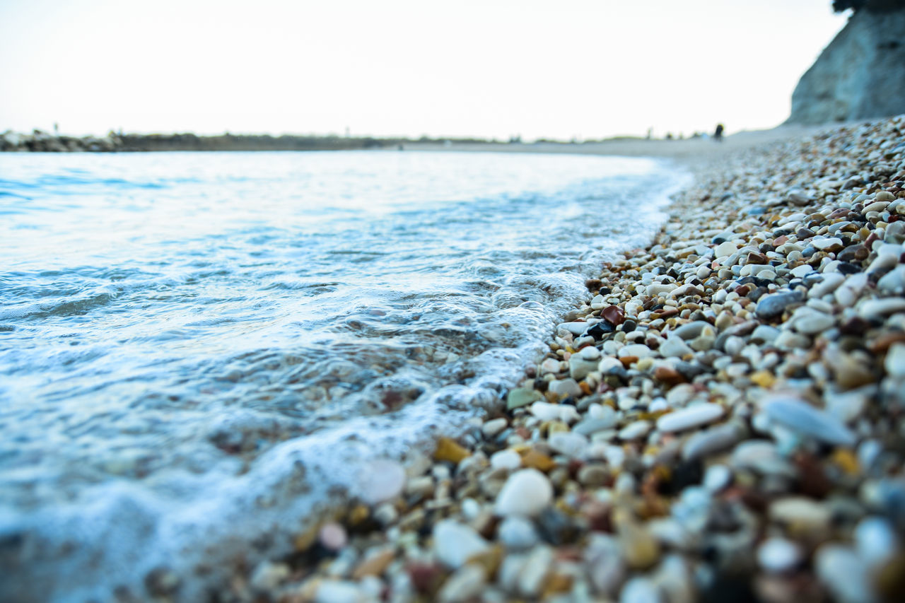 Adventure Beach Conero Italy Nature Outside Sea Soft Waves