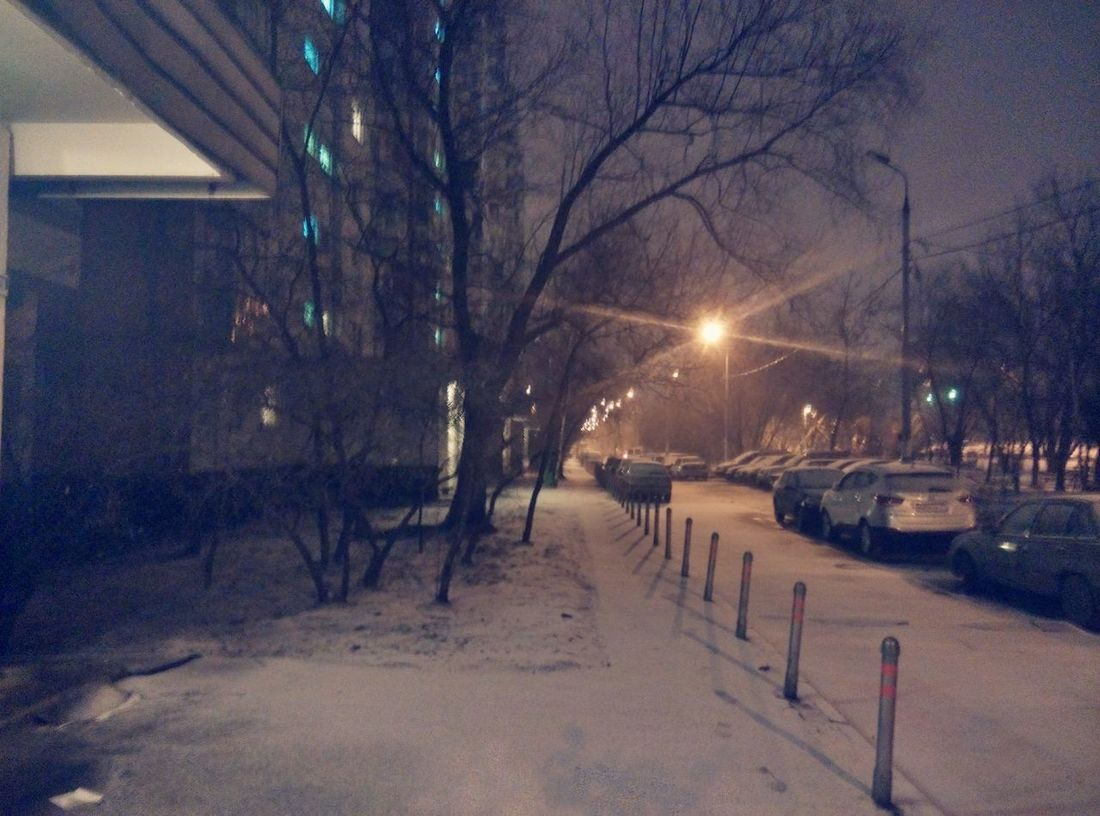 Moscow Snow ❄ Wintercomes