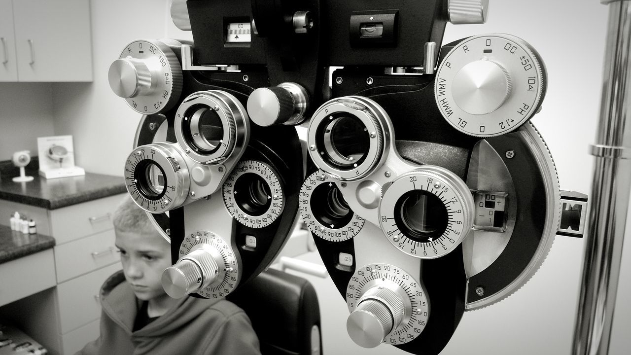 Patiently waiting... Eyes Eye Exam  Black And White Optometry Blurred Vision Ohio