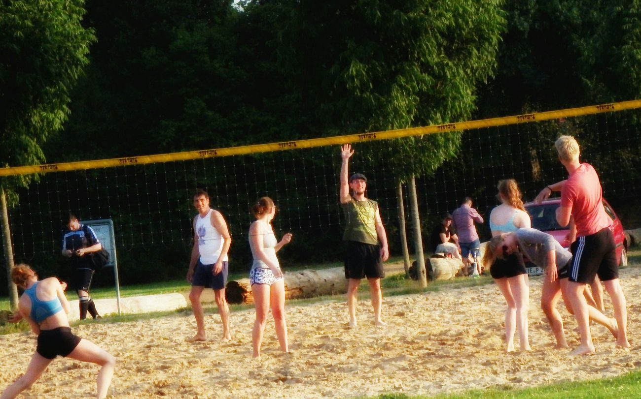 Beach Volleyball Viersen Germany Fujifilm Finepix SL1000 Taking Photos Eye4photography  Sl1000 Nice Day Peoplephotography EyeEmBestPics