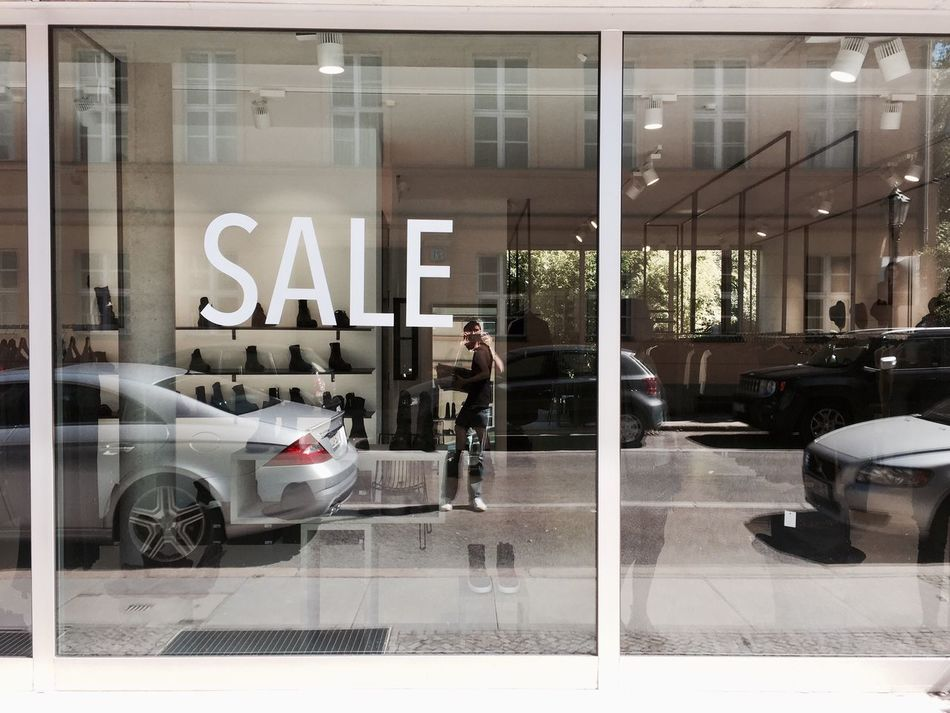 Sale Window Shopping Mall Shopping ♡ Reflection Layers Car Mercedes