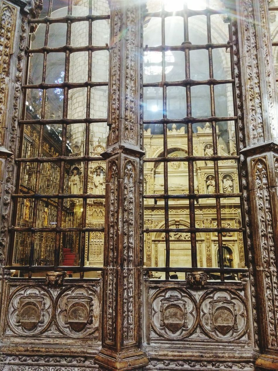 Toledo Spain Cathedral Built Structure Indoors  Architecture