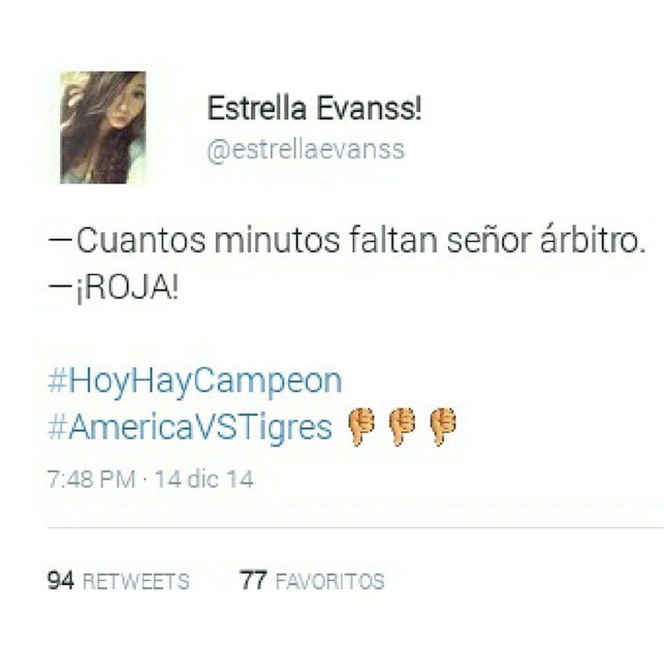 A si las cosas en Twitter Americavstigres horrible final (Made withInstasquare )App from@caesarapp