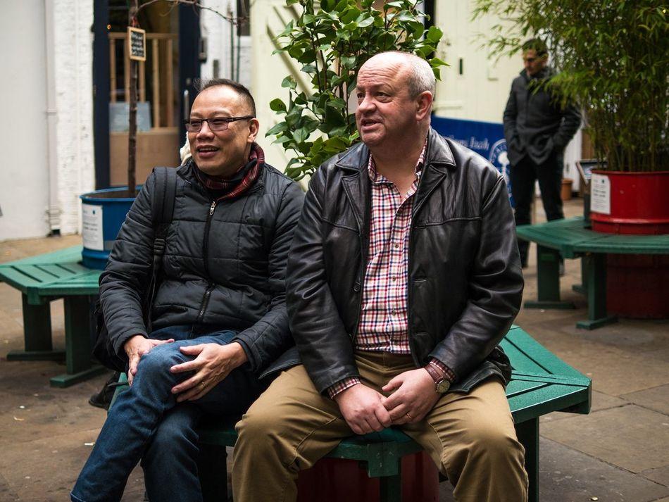 London, Dec 2016 Street Portrait Street Photography Capture The Moment Street Photographer Street Color Candid People London EyeEm Best Shots - The Streets