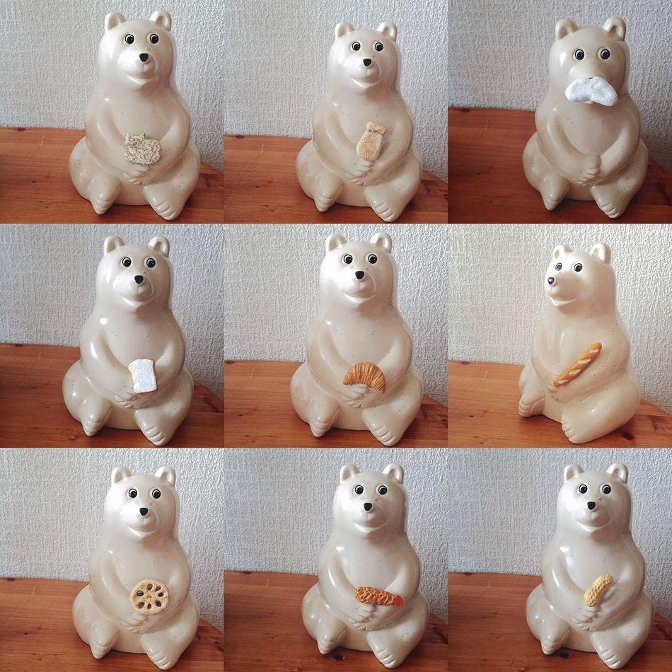 \ミヌンマトカのブローチ/ わたしがminneさんで販売中の全ブローチたちです。 まだまだ少ないけど、並べてみました●´ᆺ`● 陶土の新しいモノも考え中。 もう少しだけ、お待ちくださいな(๑´ㅂ`๑) ブローチ Brooch オーブン陶土 陶土 ハンドメイド Handmade ミンネ Minne ばん クロワッサン バゲット 食パン 猫 ねこ Cat ミルク Milk マイトパルタ 牛乳ヒゲ ピーナッツ エビフライ レンコン しろくま貯金箱 北欧雑貨 ぬいどり