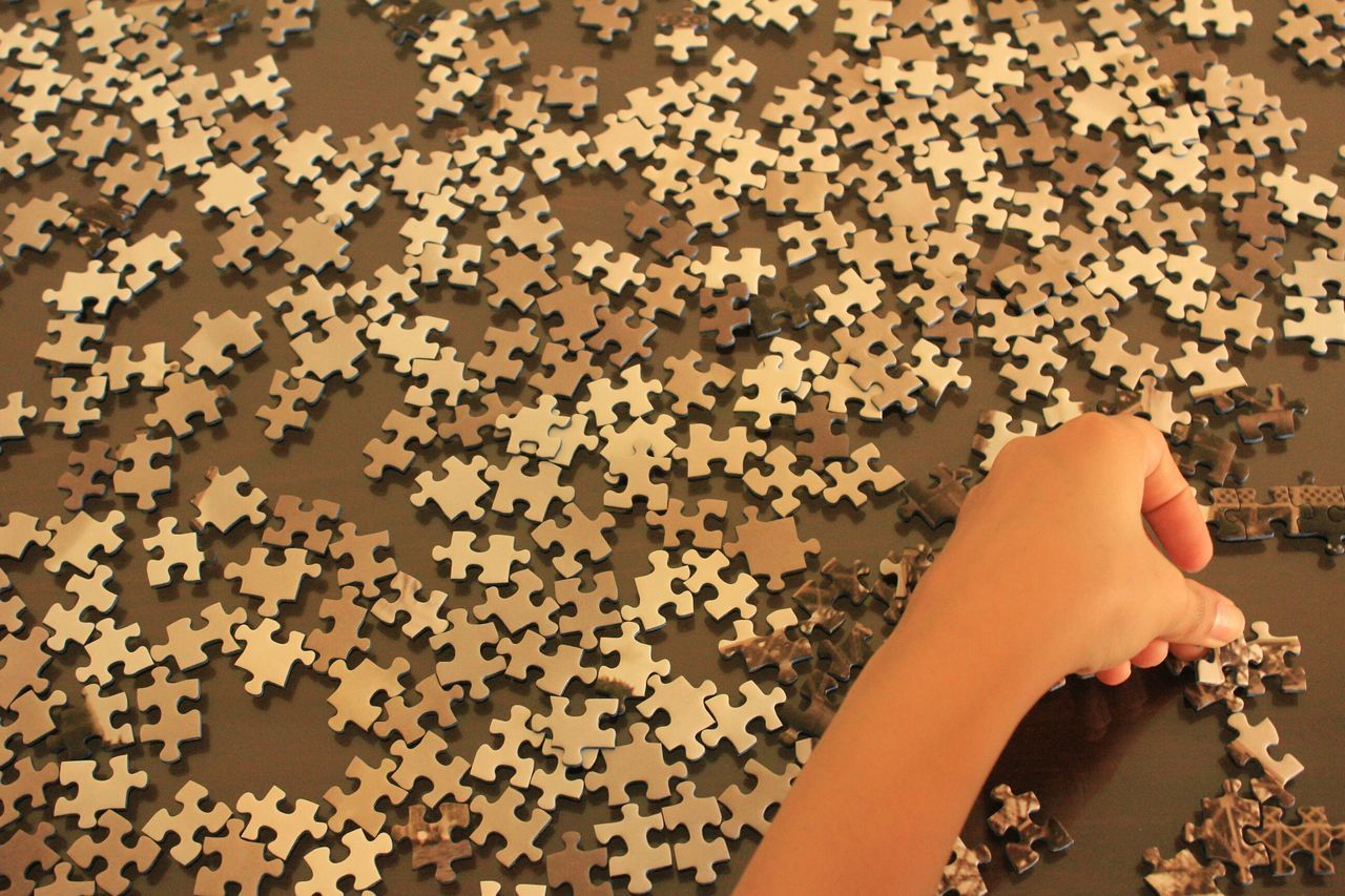 Beautiful stock photos of puzzle, Abundance, Close-Up, Connection, Cropped