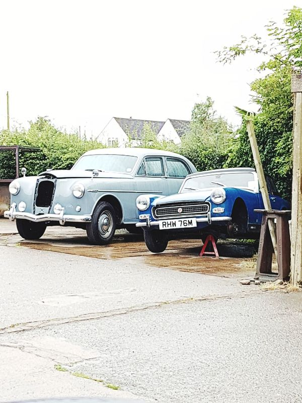 Retro Styled Old-fashioned No People Car Transportation Classic Cars Classic Car Mg Midget Wolseley