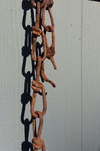 The Weakest Link Rusty Chain Cains Weak Link Broken Broke Broken Link Old Dirty Grimey Corroded Corrosion