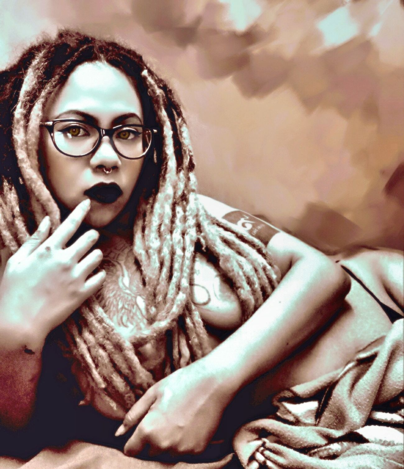 I WANT YOU TO NOTICE WHEN I'M NOT AROUND. Only Women Portrait Women Looking At Camera Tattoos Dreadlocks Crazygirl Girlwithtattoos  Dreadlocks Girl Sexyasiangirl Girlwithtattoos  First Eyeem Photo ThatsMe Thailand Thaigirls Enjoying Life Art Model Shootphoto Aliennam 👽👽👽