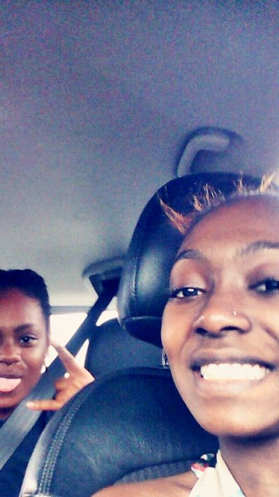 On the car ×P Smile ✌ Live Your Life *-* Sisters ❤ Walking Around The City