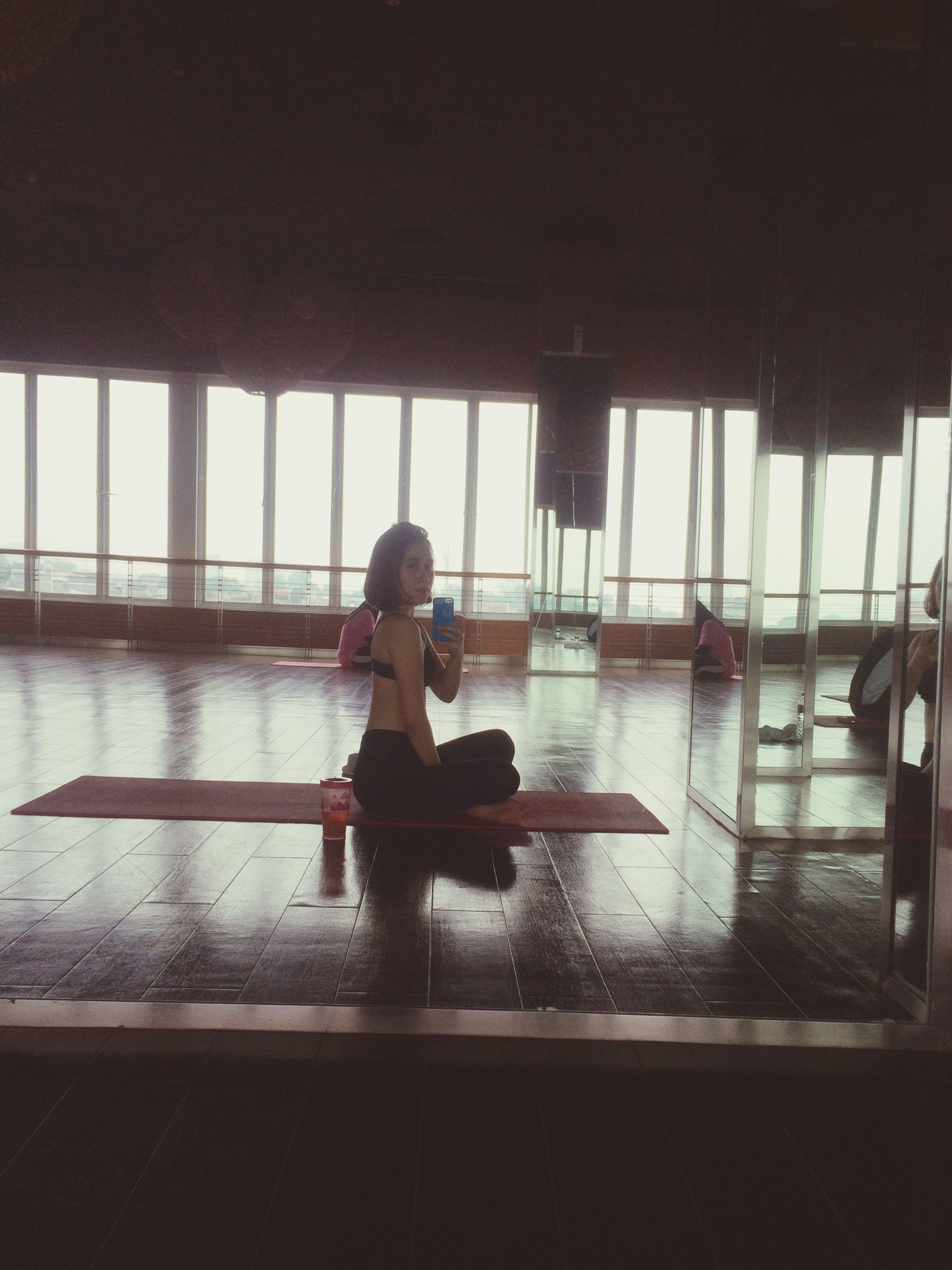 Yoga sehabis zumba