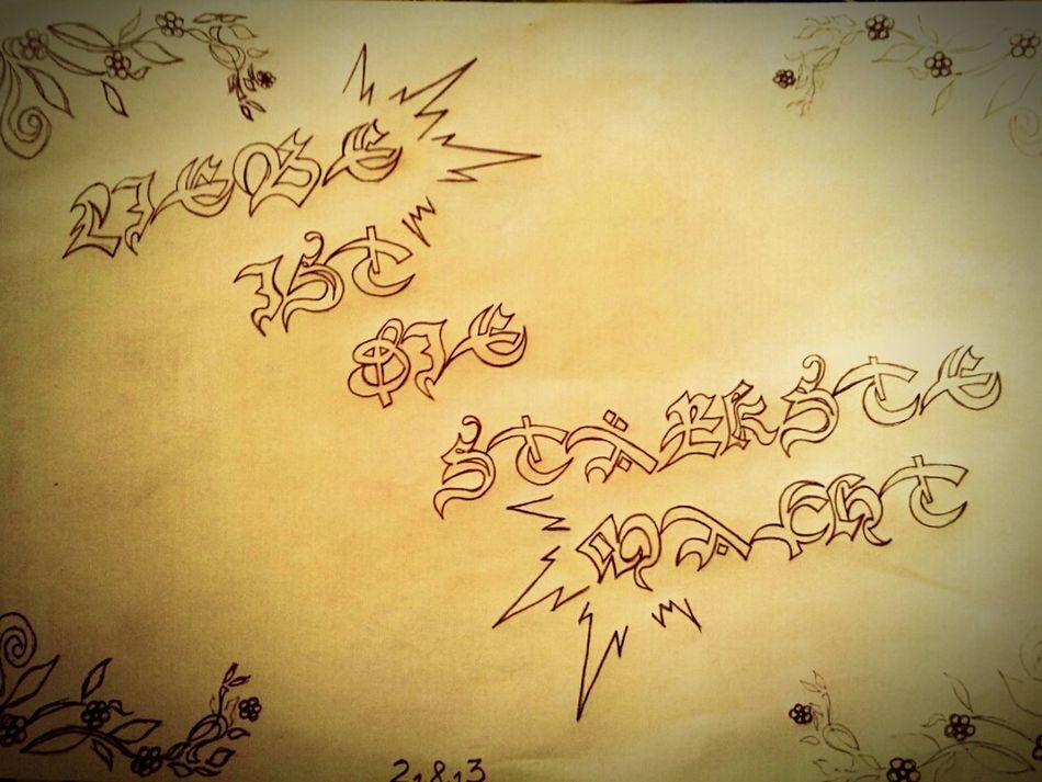 ♥♡Liebe ist die stärkste Macht♡♥ Drawing