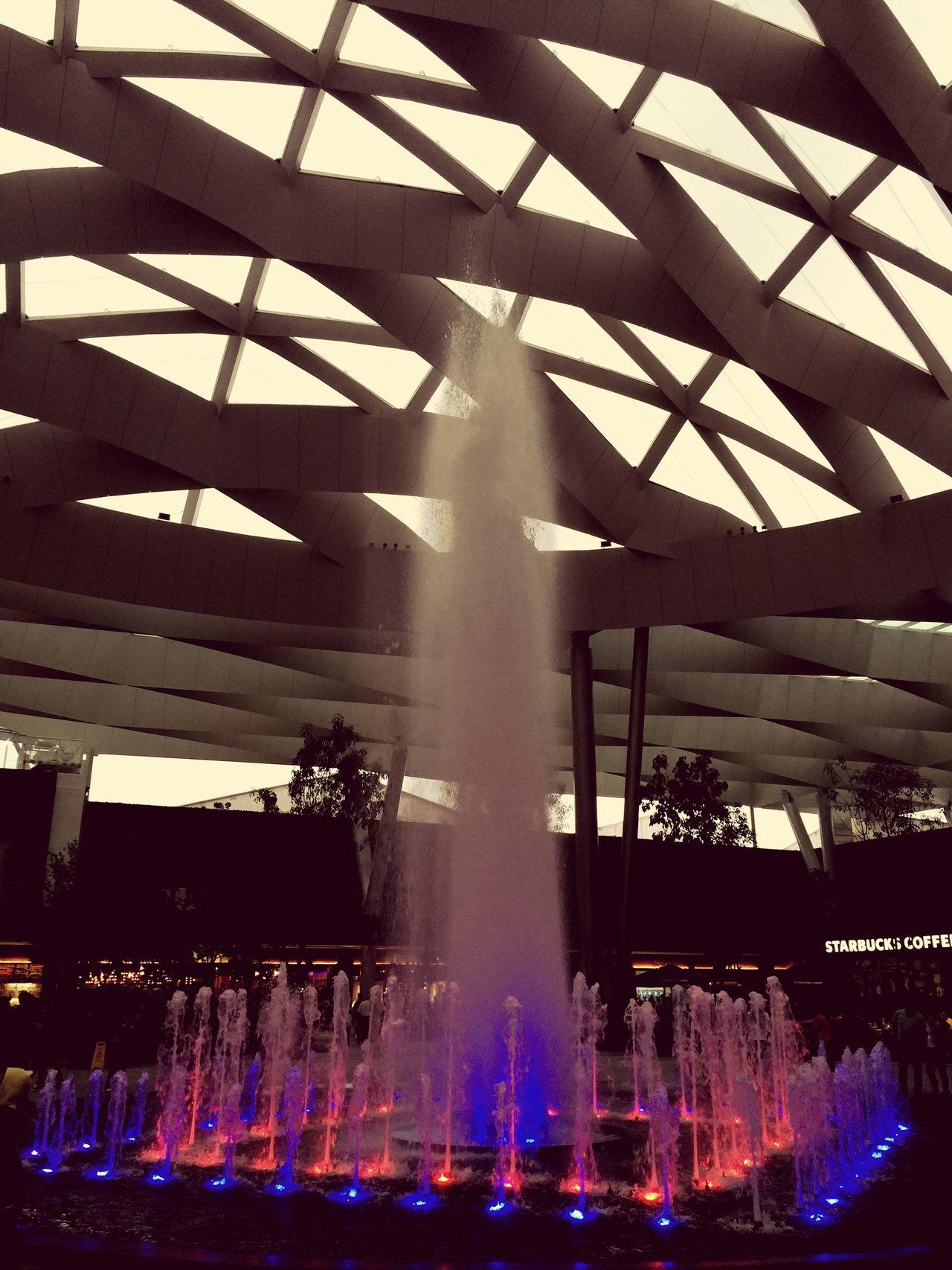 Arquitecture Landscape Fountain Fun
