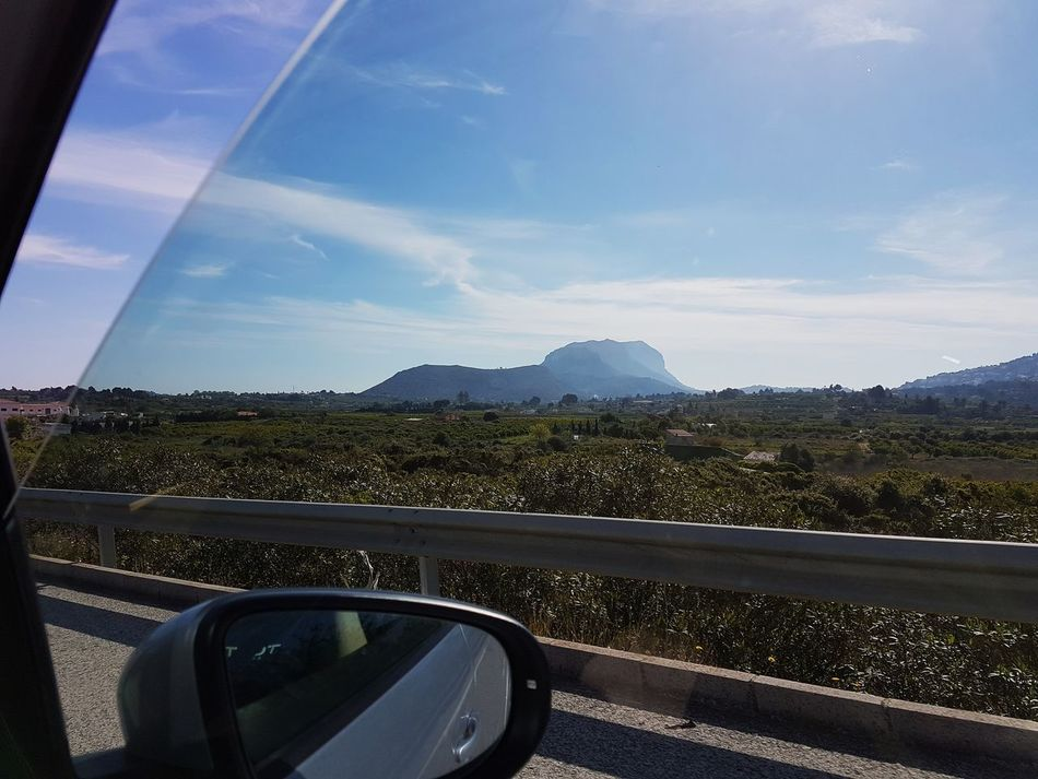 Mountain Road Cloud - Sky Landscape Day Sky No People Outdoors Nature Water Beauty In Nature SPAIN Alicante Denia