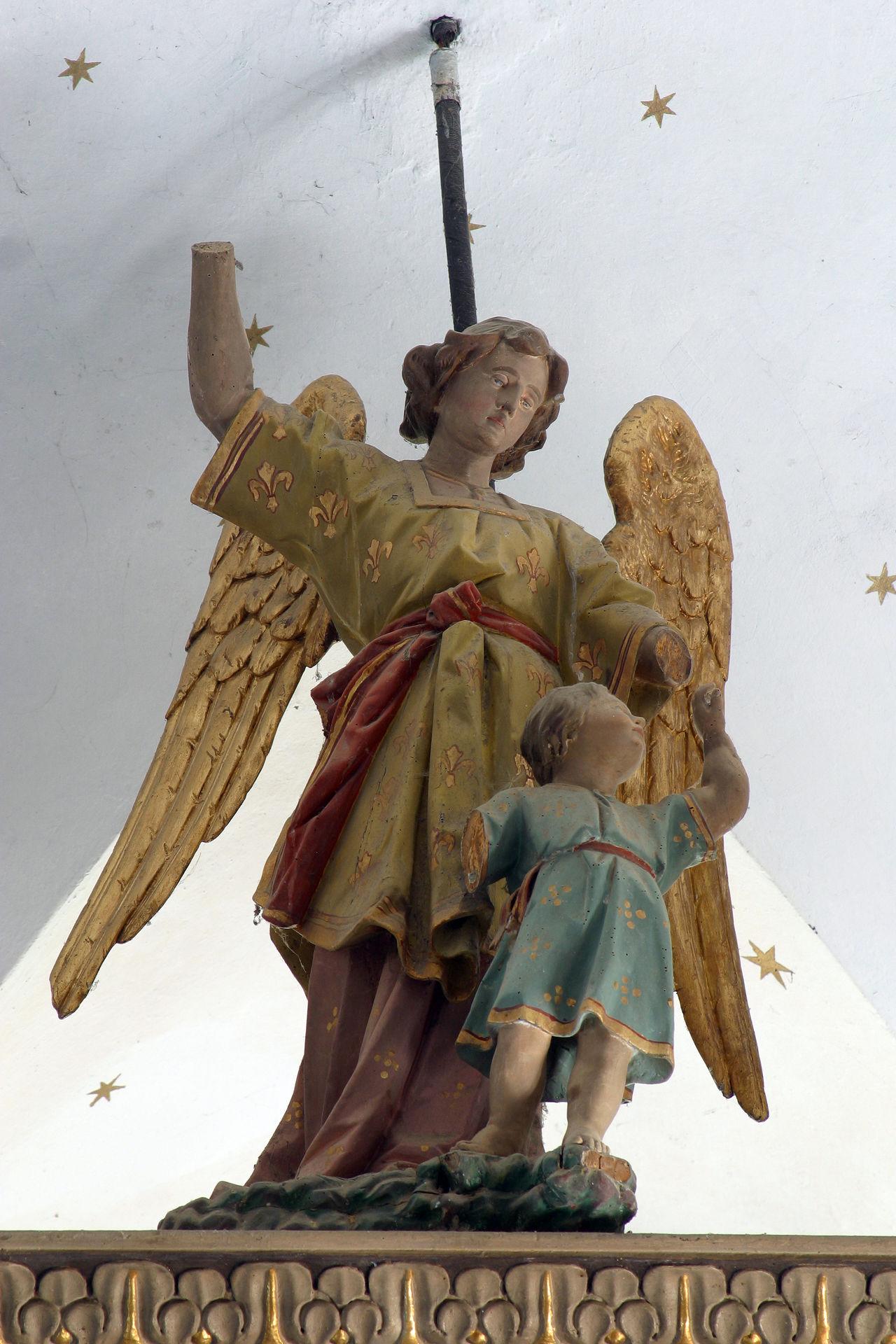 Angel guardian Altar Angel Antique Art Belief Christianity .. Church Confession Croatia Europe Faith Gold Gospel Guardian Historical Holy Old Pray Religion Religious  Saint Sculpture Spirituality Statue Worship