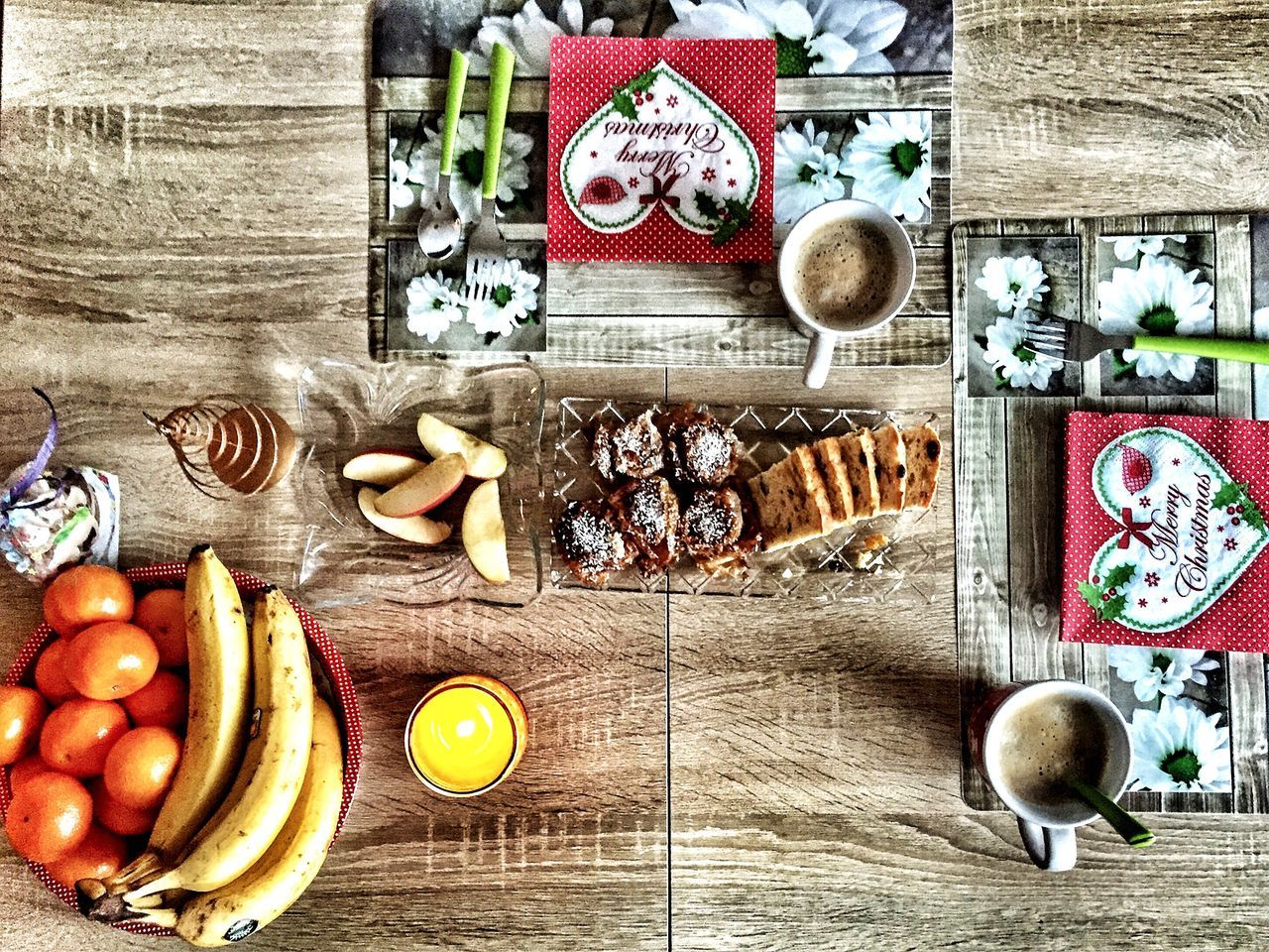 Food Breakfast Breakfast Time Christmas Decorations Christmas Stollen Christmas Table Breakfast For Two