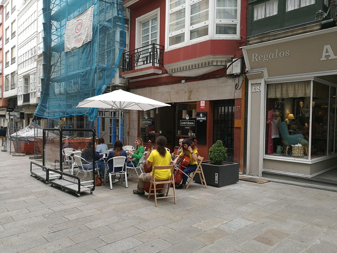 Cafe Lusitana Ferrol Spain First Eyeem Photo