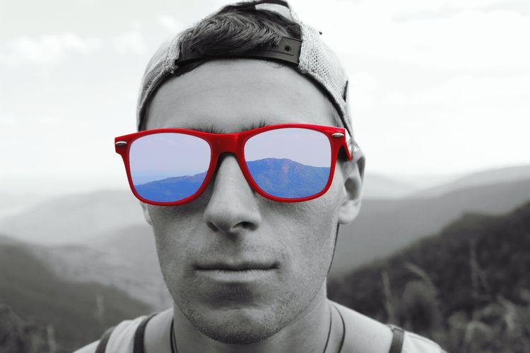 First Eyeem Photo Mountains Sunglasses Photoshop Coloredit Shenandoah National Park Nature Nature Photography