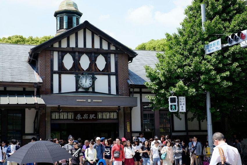 原宿駅 渋谷区 Tokyo 原宿 Fujifilm X-E2 Fujifilm_xseries Xf35 Fujifilm Fujifilmxe2 Fujixe2 Station