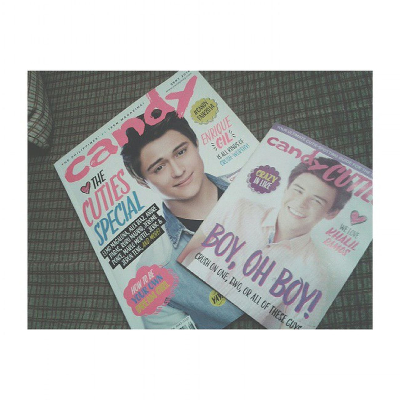 Ohhhyessss!!!!! ?❤❤❤ Happykid CandyMagazine EnriqueGil Khalilramos collection love fangirl