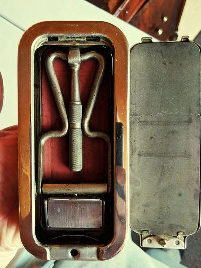Antique 1930's Razor Antique Old Razor Eye4photography  EyeEm Gallery EyeEm Selects No People Indoors  Close-up Day