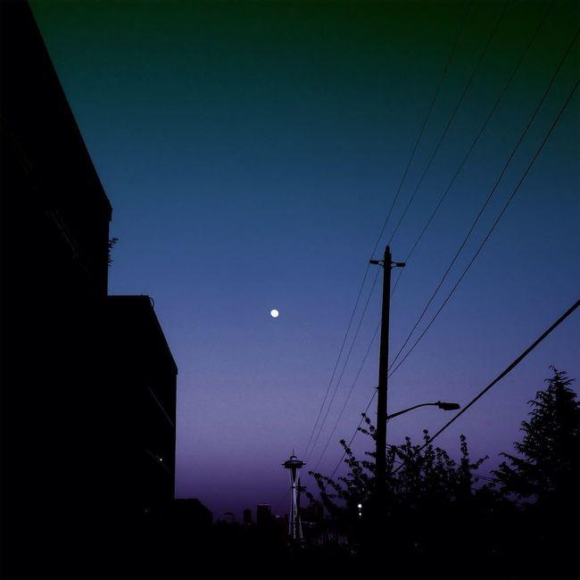 Moon not quite full Sky IPhoneArtism The Minimals (less Edit Juxt Photography) Unitedbyedit