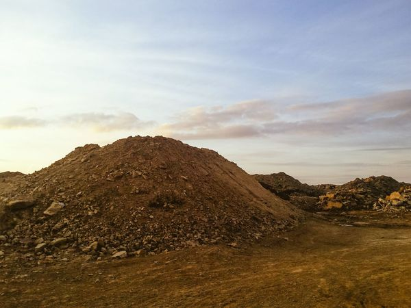 Cloud - Sky Landscape No People Sky Outdoors Day Nature Desert Calderdale Yorkshire Rock Tranquil Scene Beauty In Nature BYOPaper! Textures And Surfaces Quarry Mars Tyre Tracks Countryside Life On Mars Mud The Great Outdoors - 2017 EyeEm Awards Landscapes With WhiteWall Scenics Mountain