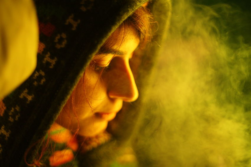50mm Colours Green Color Profile Smoke Artificial Close-up Color Eyes Face Georgian Photography Girl Greenlight Lashafox Mood Night One Person People Photographer Photography Portrait Selective Focus Sony Tsertsvadze Yellow