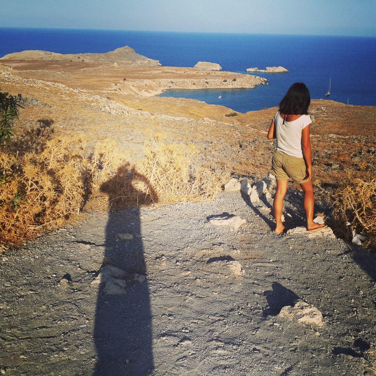 Sneaking Beach Greece Griechenland Licht Und Schatten Light And Shadow Rhodos Rhodos, Greece  Shadow