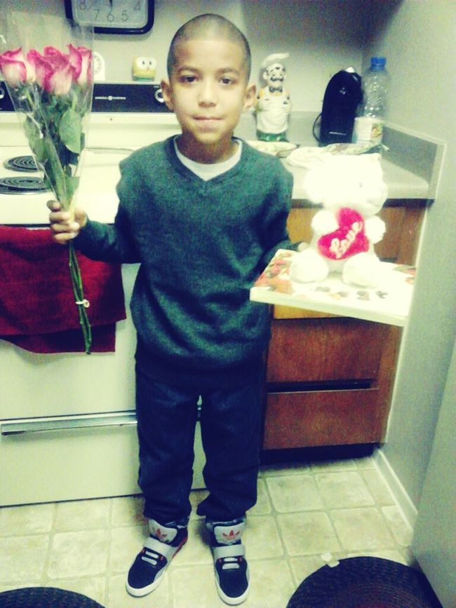 what my liddo brother got his crush <3
