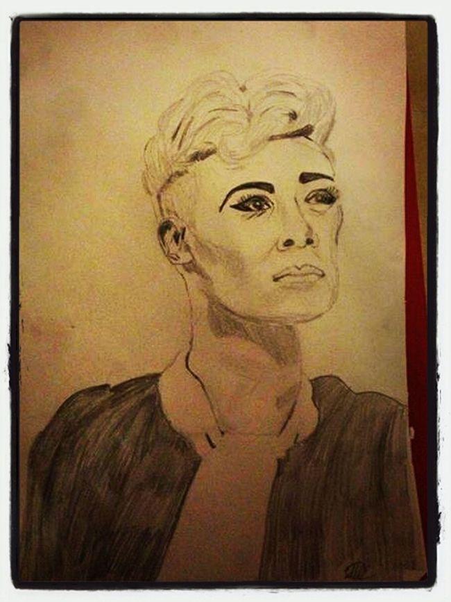 Drawings Emeli Sande Portrait Drawing