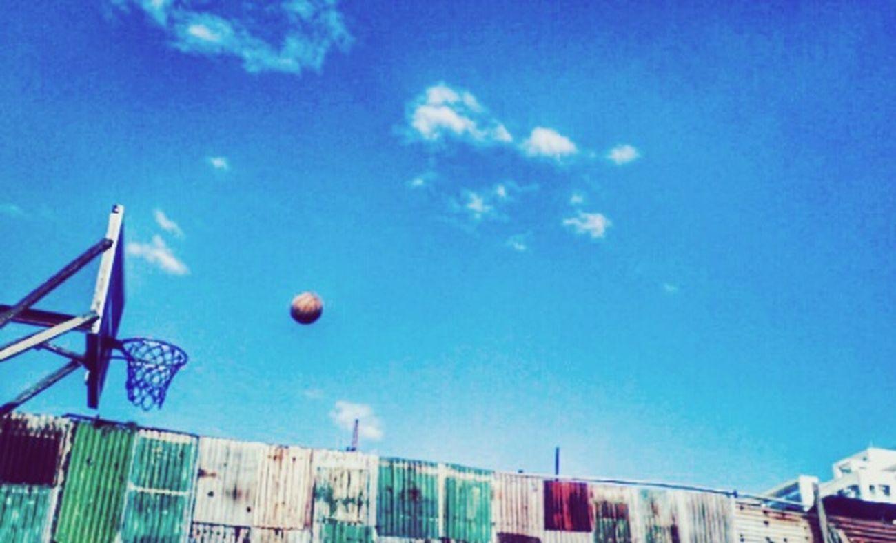 Streetbasketball Sky Clouds