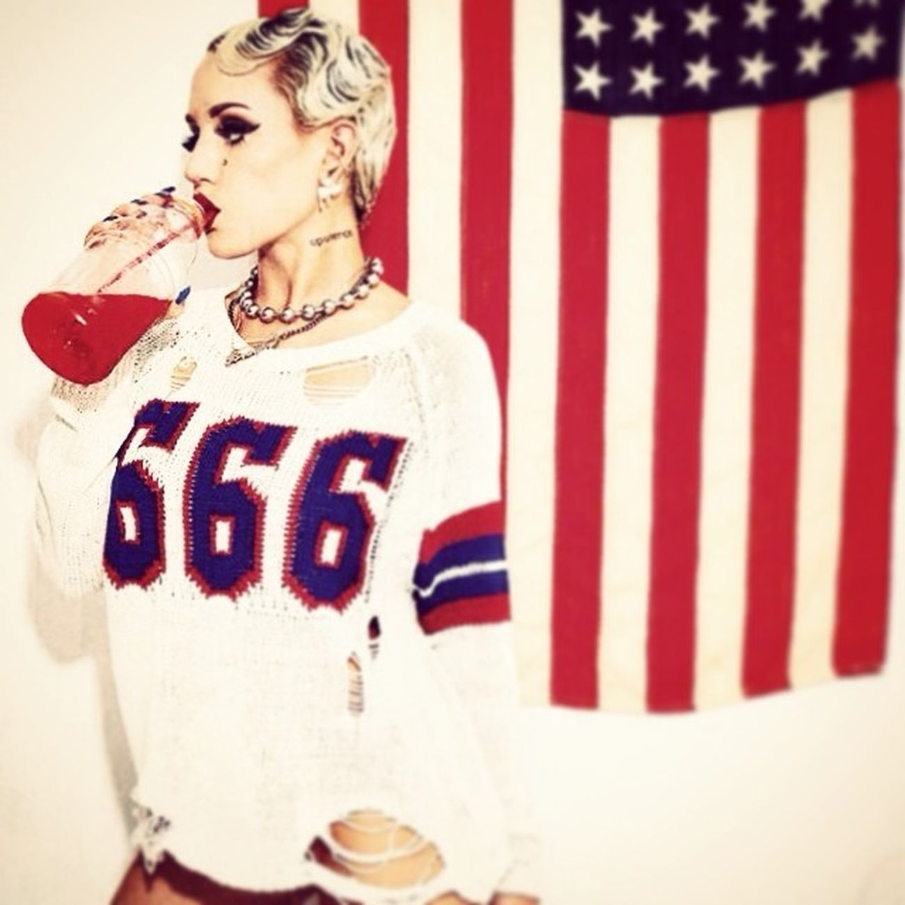Lucifer, My baby daddy, he cast a spell, he like it when I'm nasty! ..My New Sick Obsession @BrookeCandy has invaded my soul. Brookecandy Fagmob Stack 666