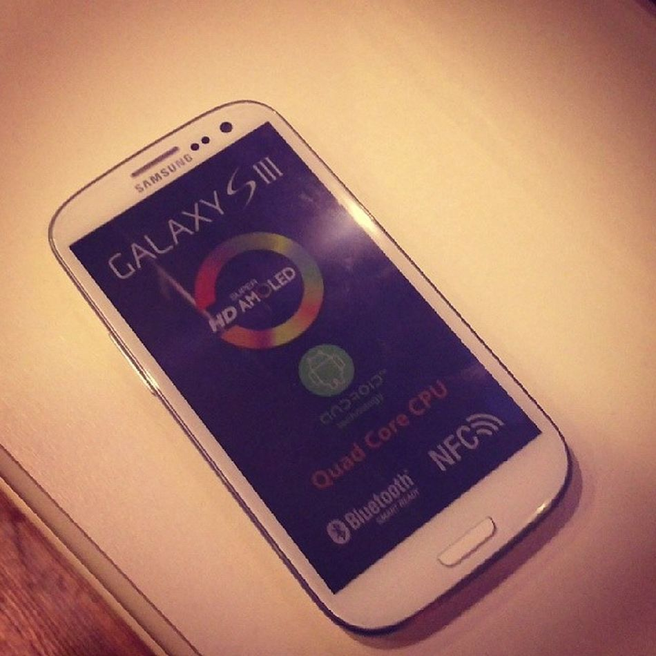 Mynewphone Samsung S3 Welcome homelikeabossgoodphonethanks
